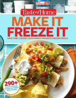Make It Freeze It