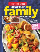 Taste of Home Simply Healthy Family Favorites Cookbook