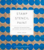 Stamp, Stencil, Paint