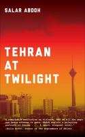 Tehran at Twilight