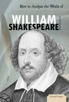 How to Analyze the Works of William Shakespeare