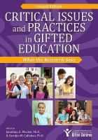 Critical Issues and Practices in Gifted Education