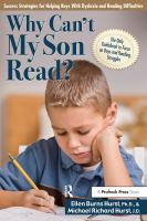 Why Can't My Son Read?