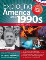 Exploring America in the 1990s