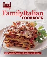 Good Housekeeping Family Italian Cookbook