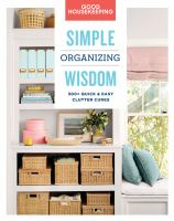 Simple Organizing Wisdom