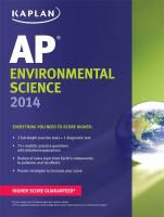 AP Environmental Science 2014