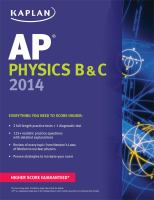 AP Physics B & C, 2014