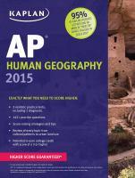 AP Human Geography 2015