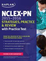 NCLEX-PN 2015-2016