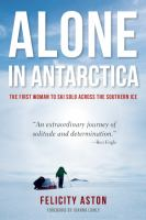 Image: Alone in Antarctica
