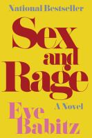 Cover of Sex and Rage: Advice to Yo