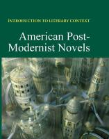 American Post-modernist Novels