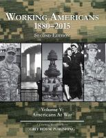 Working Americans, 1880-2015