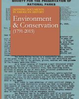 Environment & Conservation (1791-2015)