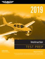 2019 Instructor Test Prep