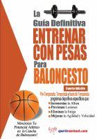 La Gua Definitiva - Entrenar Con Pesas Para Baloncesto