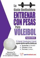 La Gua Definitiva - Entrenar Con Pesas Para Voleibol
