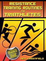 Resistance Training Routines for Triathletes