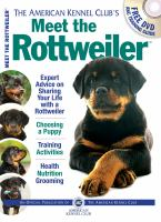 The American Kennel Club's Meet the Rottweiler