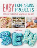 Easy Home Sewing Projects