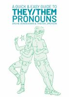 A Quick & Easy Guide to They/them Pronouns - Bongiovanni, Archie