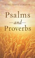 Psalms and Proverbs
