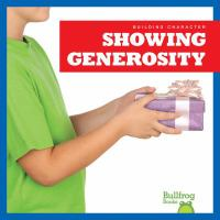 Showing Generosity