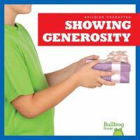 Showing Generosity