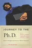 Journey to the Ph. D