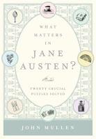What Matters in Jane Austen?