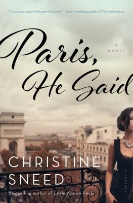 Cover image for Paris, He Said