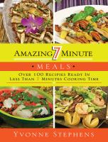Amazing 7 Minute Meals