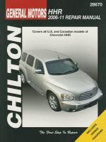 Chilton's General Motors HHR 2006-11 Repair Manual