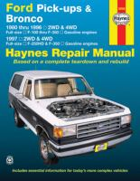 Ford pick-ups & Bronco automotive repair manual
