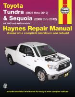 Toyota Tundra & Sequoia Automotive Repair Manual