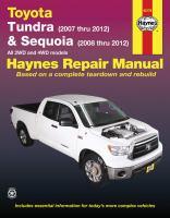 Toyota Tundra & Sequoia Automotive Repair Manual
