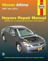 Nissan Altima Automotive Repair Manual