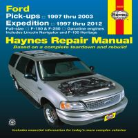 Ford Pick-ups & Expedition, Lincoln Navigator Automotive Repair Manual