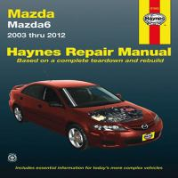 Mazda6 Automotive Repair Manual