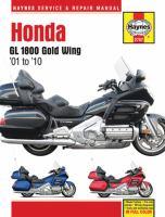Honda GL 1800 Gold Wing Service and Repair Manual