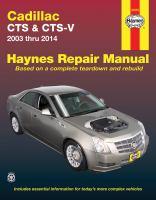 Cadillac CTS & CTS-V '03 Thru '14