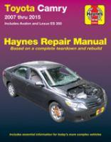 Toyota Camry and Lexus ES 350 Automotive Repair Manual