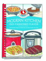 Modern Kitchen, Old-fashioned Flavor