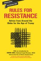 Rules for Resistance