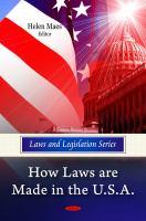 How Laws Are Made in the U.S.A