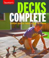 Taunton's Decks Complete
