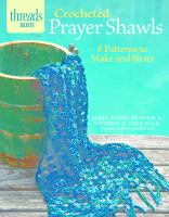 Crocheted prayer shawls : 8 patterns to make and share