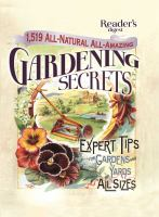 1,519 All-natural, All-amazing Gardening Secrets