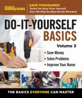 Do-it-yourself Basics
